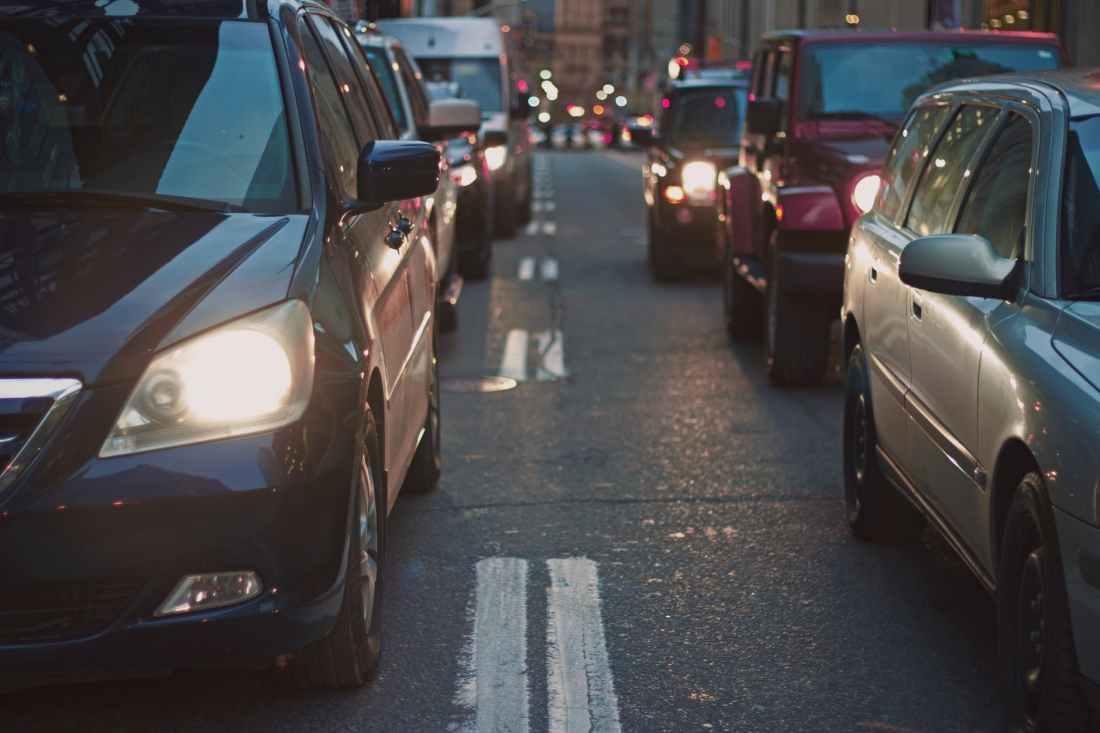 traffic cars street traffic jam